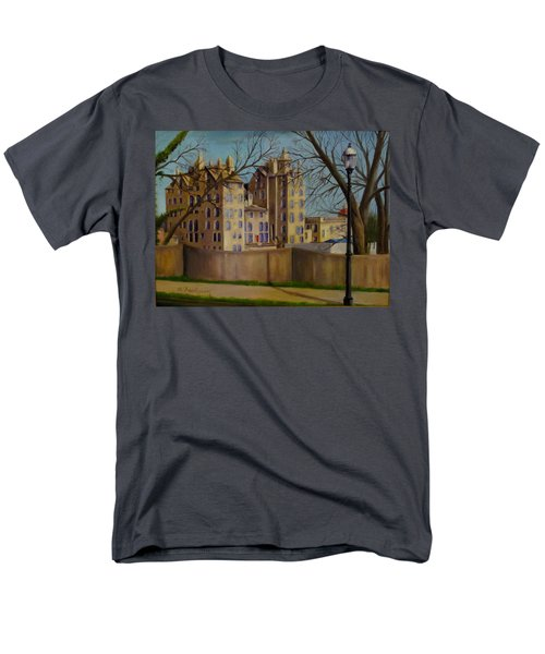 Mercer Museum Men's T-Shirt  (Regular Fit) by Oz Freedgood