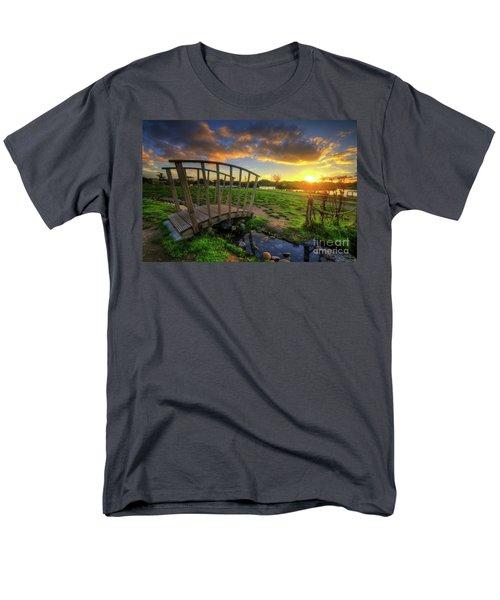 Men's T-Shirt  (Regular Fit) featuring the photograph Mercia Marina 16.0 by Yhun Suarez