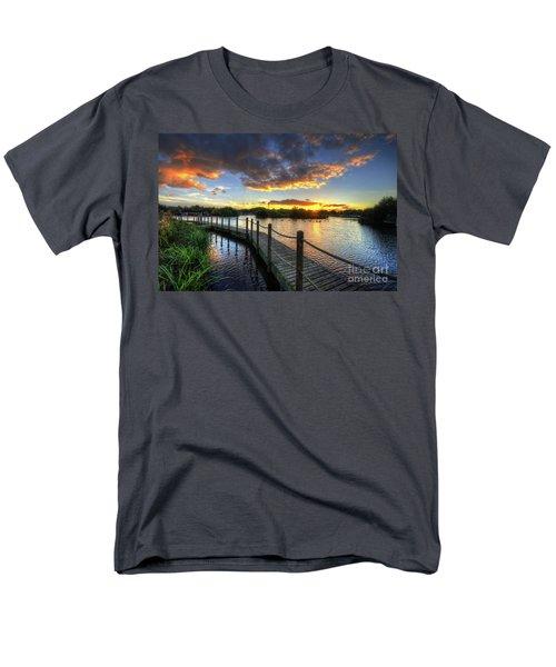 Men's T-Shirt  (Regular Fit) featuring the photograph Mercia Marina 18.0 by Yhun Suarez