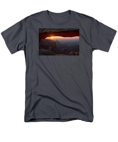 Mesa Arch Sunrise Men's T-Shirt  (Regular Fit) by Darlene Bushue