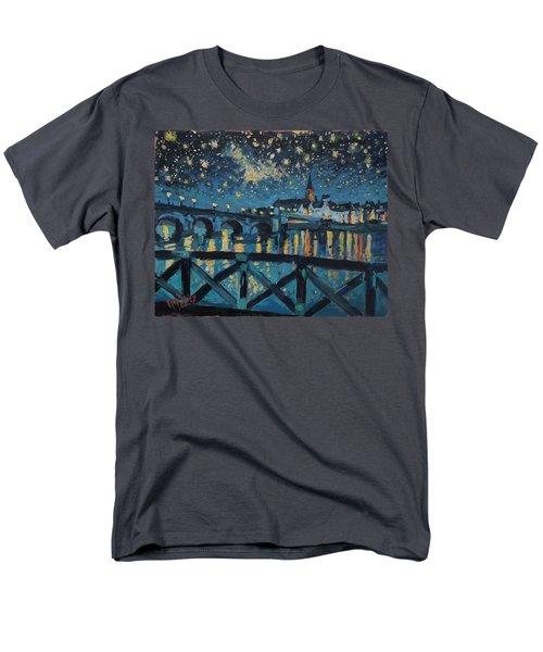 Mestreechter Staarenach Staryy Night Maastricht Men's T-Shirt  (Regular Fit)