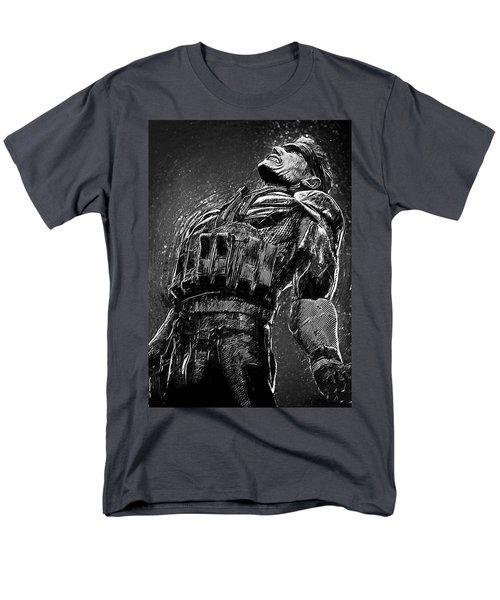 Men's T-Shirt  (Regular Fit) featuring the digital art Metal Gear Solid by Taylan Apukovska