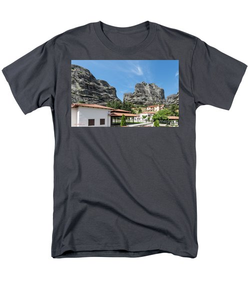 Meteora In Greece Men's T-Shirt  (Regular Fit) by Arik Baltinester