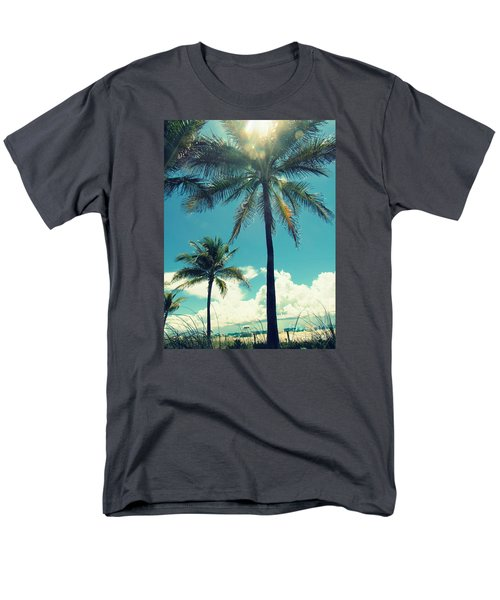 Miami Beach Men's T-Shirt  (Regular Fit) by France Laliberte