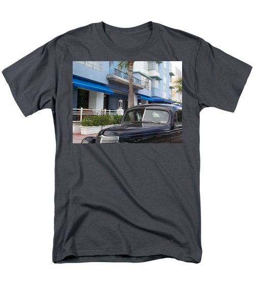 Men's T-Shirt  (Regular Fit) featuring the photograph Miami Beach by Mary-Lee Sanders
