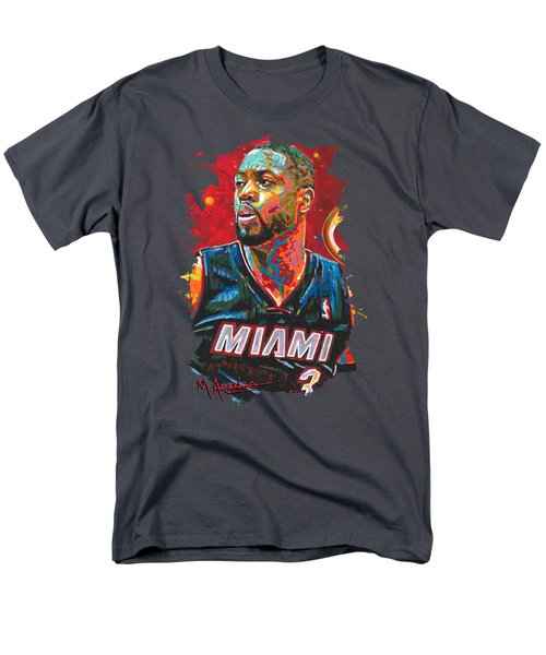 Miami Heat Legend Men's T-Shirt  (Regular Fit) by Maria Arango