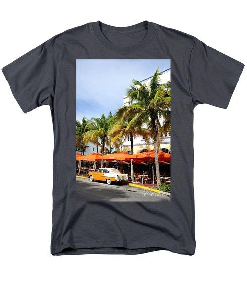 Miami South Beach Ocean Drive 8 Men's T-Shirt  (Regular Fit) by Nina Prommer