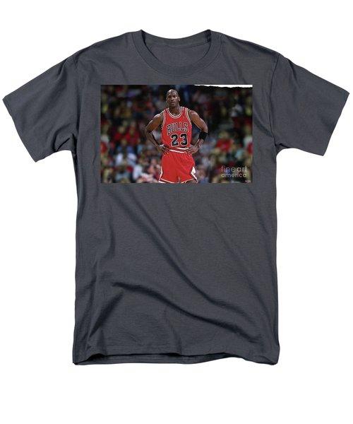 Michael Jordan, Number 23, Chicago Bulls Men's T-Shirt  (Regular Fit)