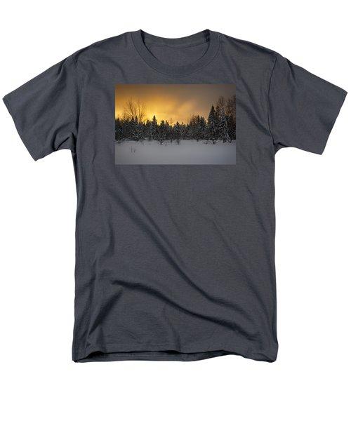 Mid-winter Glow Men's T-Shirt  (Regular Fit) by Dan Hefle