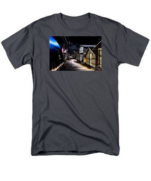 Midnight At The Boathouse Men's T-Shirt  (Regular Fit) by William Norton