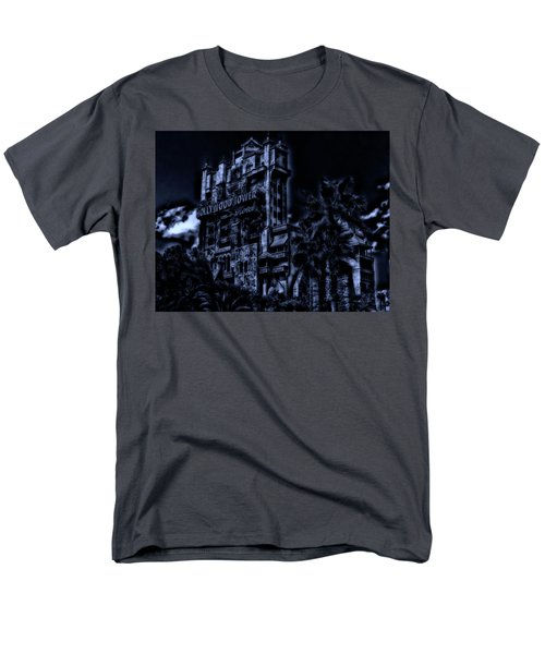 Midnight At The Tower Of Terror Mp Men's T-Shirt  (Regular Fit) by Thomas Woolworth