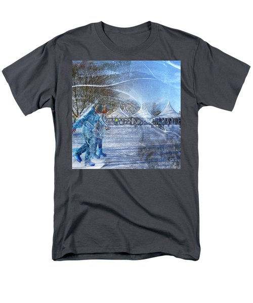 Midwinter Blues Men's T-Shirt  (Regular Fit) by LemonArt Photography