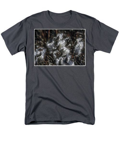 Milkweed Plant Dried Seeds  Men's T-Shirt  (Regular Fit) by John Brink