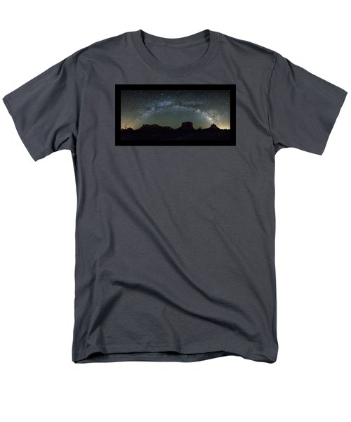 Milky Way Over Bell Men's T-Shirt  (Regular Fit) by Tom Kelly