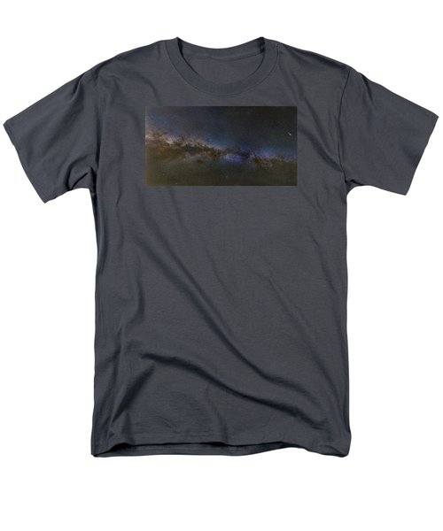 Men's T-Shirt  (Regular Fit) featuring the photograph Milky Way South by Charles Warren