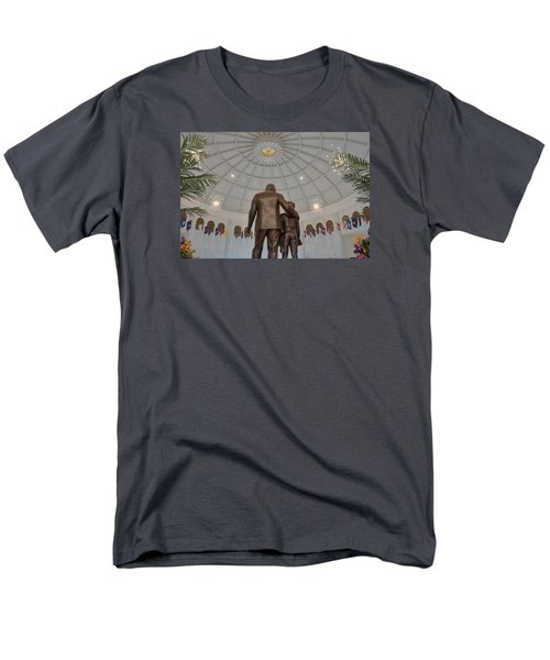 Milton Hershey And The Boy Men's T-Shirt  (Regular Fit) by Mark Dodd