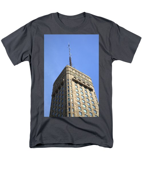 Men's T-Shirt  (Regular Fit) featuring the photograph Minneapolis Tower 6 by Frank Romeo