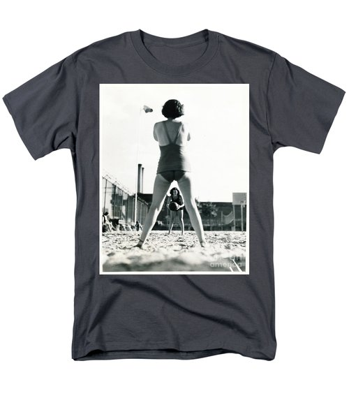 Men's T-Shirt  (Regular Fit) featuring the photograph Miramar Pool, 1932 by Cole Thompson