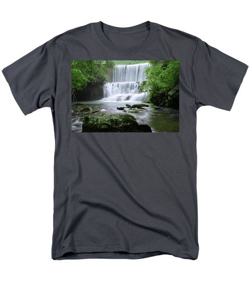 Men's T-Shirt  (Regular Fit) featuring the photograph Mirror Lake by Renee Hardison