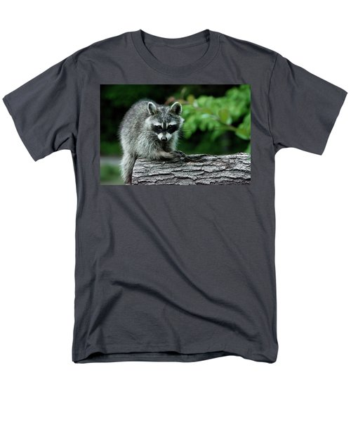 Men's T-Shirt  (Regular Fit) featuring the photograph Mischievous by Linda Segerson