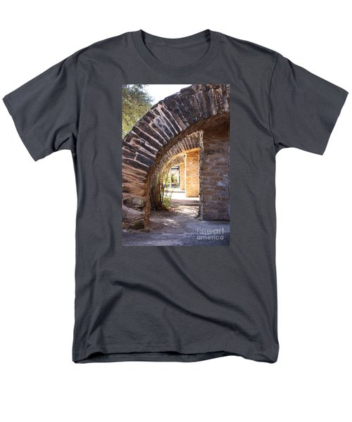 Mission San Jose Men's T-Shirt  (Regular Fit) by Jeanette French
