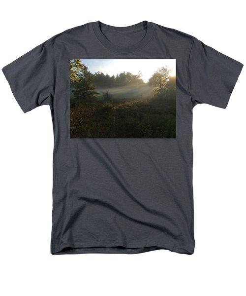 Mist In The Meadow Men's T-Shirt  (Regular Fit)