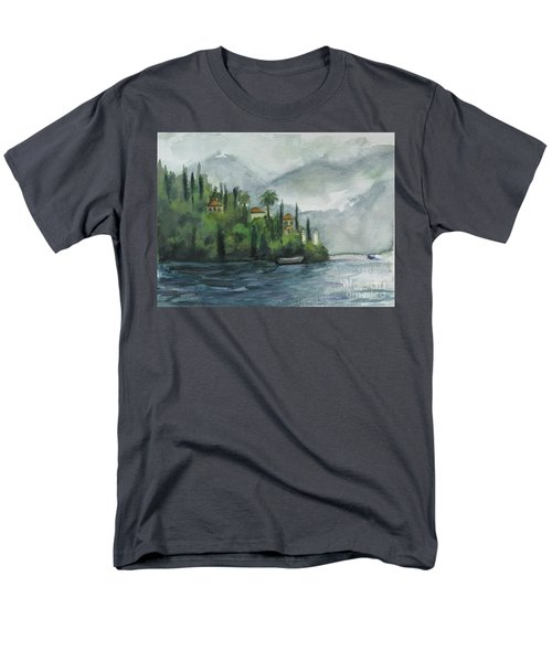 Misty Island Men's T-Shirt  (Regular Fit) by Laurie Morgan