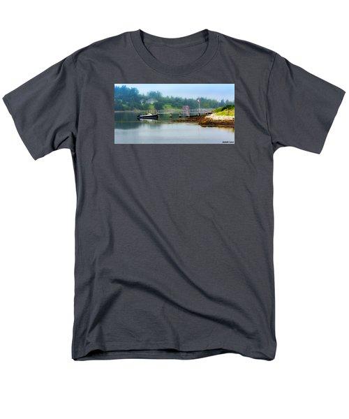 Misty Morning Men's T-Shirt  (Regular Fit) by Ken Morris