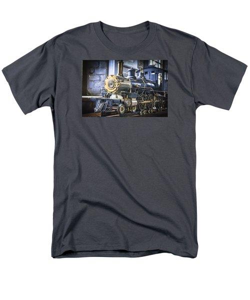 Model Train Men's T-Shirt  (Regular Fit)