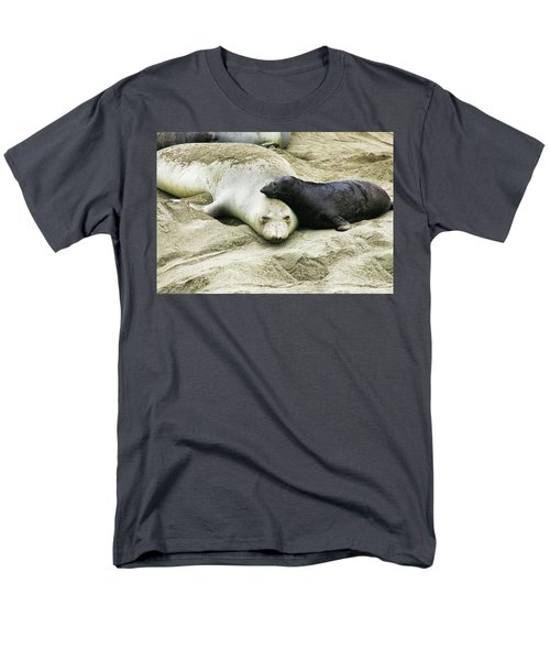 Men's T-Shirt  (Regular Fit) featuring the photograph Mom And Pup by Anthony Jones