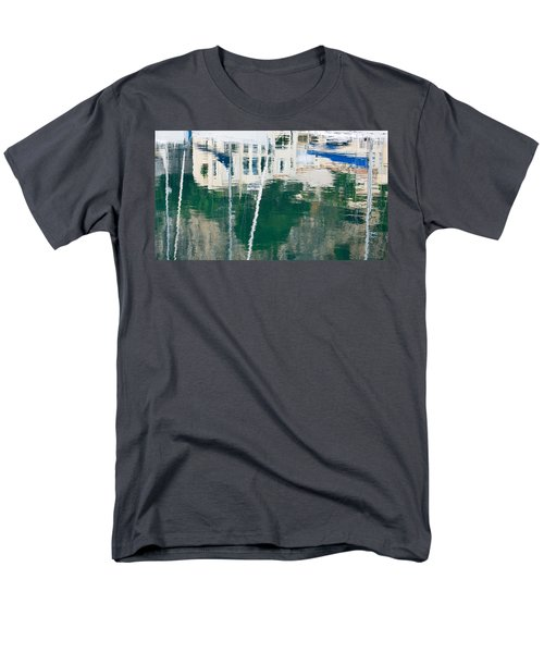 Men's T-Shirt  (Regular Fit) featuring the photograph Monaco Reflection by Keith Armstrong