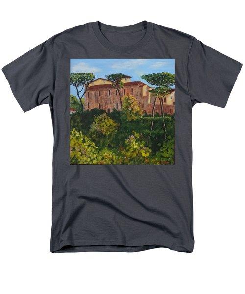 Monastero Men's T-Shirt  (Regular Fit)