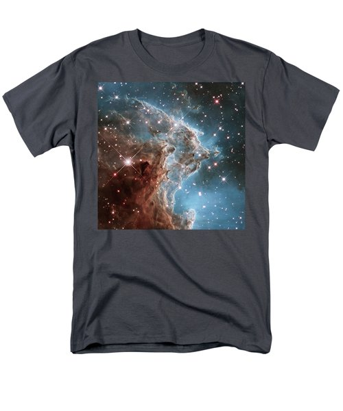 Men's T-Shirt  (Regular Fit) featuring the photograph Monkey Head Nebula by Marco Oliveira