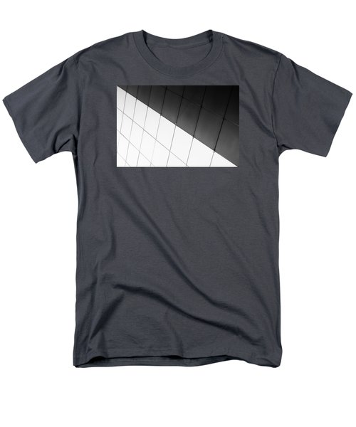 Monochrome Building Abstract 3 Men's T-Shirt  (Regular Fit) by John Williams