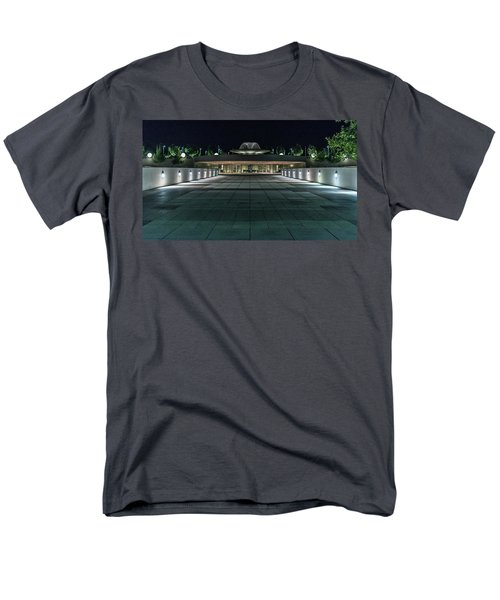 Monona Terrace Men's T-Shirt  (Regular Fit) by Randy Scherkenbach