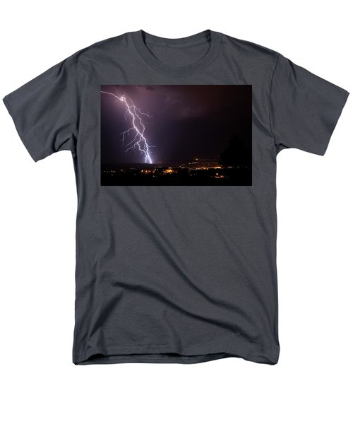 Monsoon Storm Men's T-Shirt  (Regular Fit) by Ron Chilston