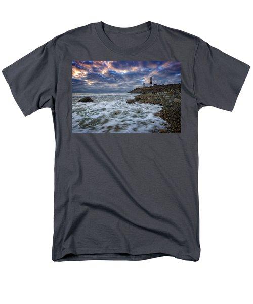 Montauk Morning Men's T-Shirt  (Regular Fit) by Rick Berk