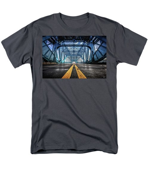 Monumental Market Street Men's T-Shirt  (Regular Fit) by Steven Llorca
