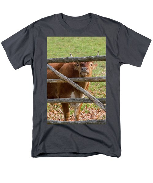 Men's T-Shirt  (Regular Fit) featuring the photograph Moo by Bill Wakeley