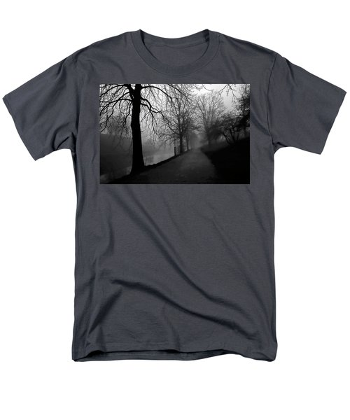 Moody And Misty Morning Men's T-Shirt  (Regular Fit) by Inge Riis McDonald