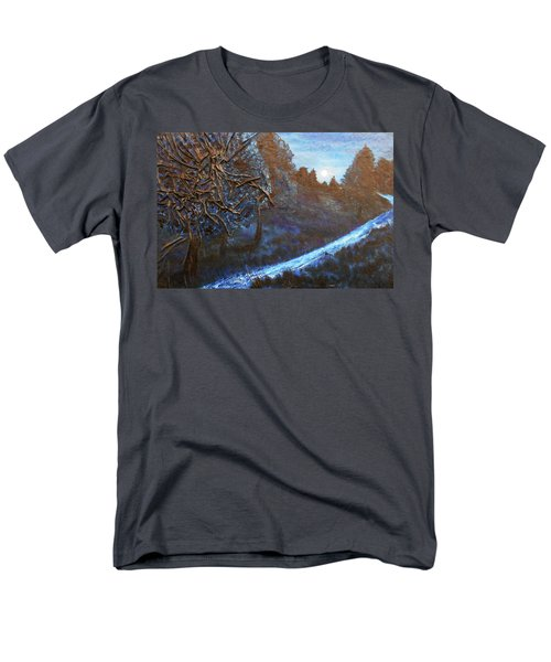Moon Rise  Men's T-Shirt  (Regular Fit) by Angela Stout