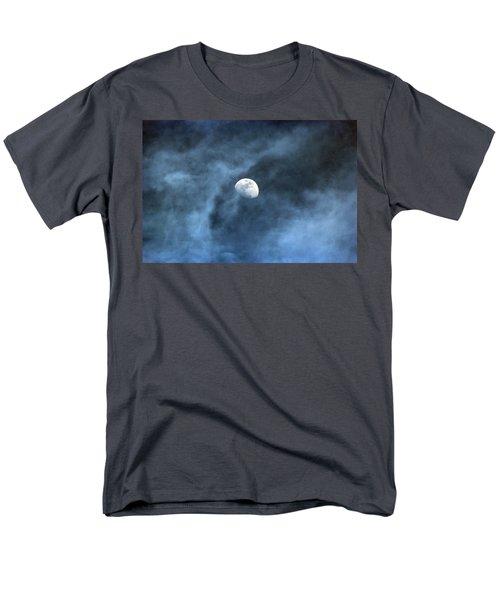 Moon Smoke Men's T-Shirt  (Regular Fit) by David Stasiak
