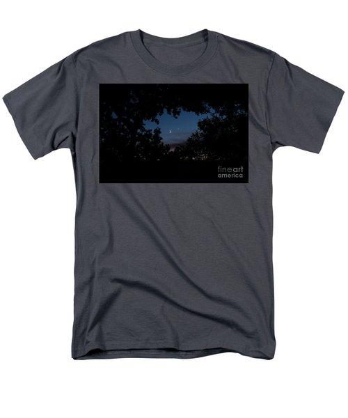 Moon Venus, Jupiter Men's T-Shirt  (Regular Fit)