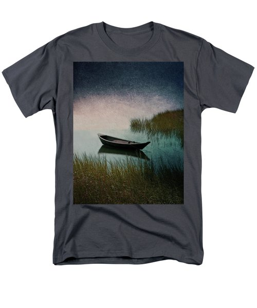 Moonlight Paddle Men's T-Shirt  (Regular Fit) by Brooke T Ryan