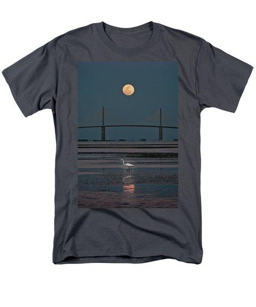 Moonlight Stroll Men's T-Shirt  (Regular Fit) by Steven Sparks