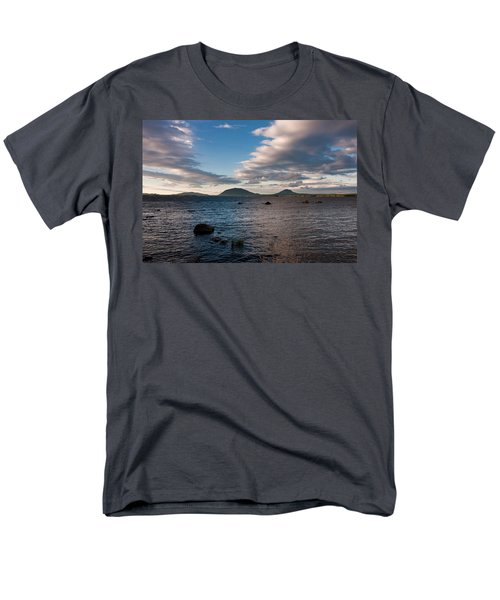 Moosehead Lake Spencer Bay Men's T-Shirt  (Regular Fit) by Brent L Ander
