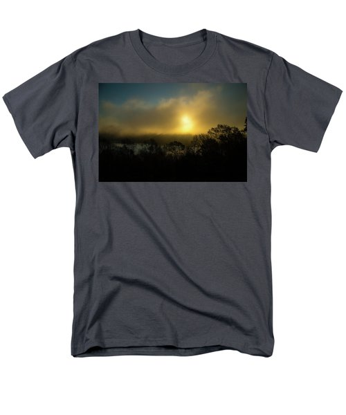 Men's T-Shirt  (Regular Fit) featuring the photograph Morning Arrives by Karol Livote