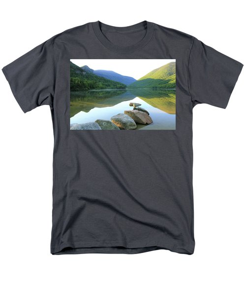 Morning At Echo Lake Men's T-Shirt  (Regular Fit) by Roupen  Baker