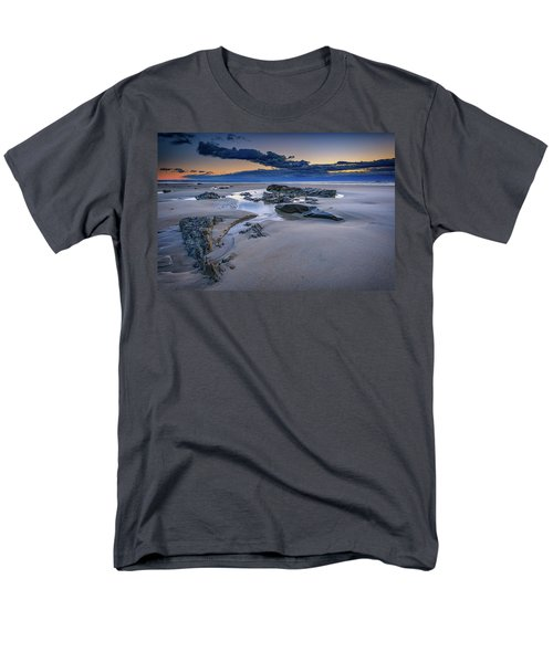 Men's T-Shirt  (Regular Fit) featuring the photograph Morning Calm On Wells Beach by Rick Berk