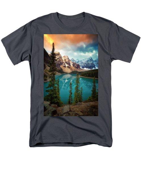 Morning Eruption  Men's T-Shirt  (Regular Fit) by Nicki Frates